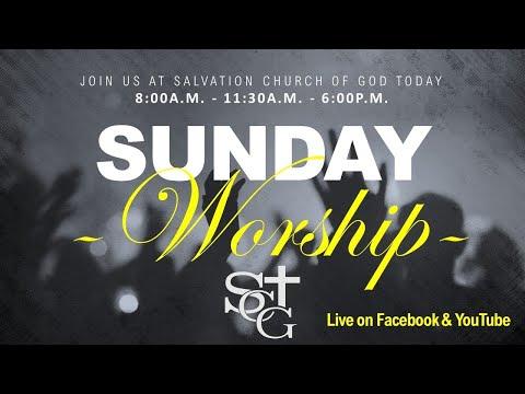 Salvation Church of God   11:30A.M Sunday Service 12/06/2020  Past. Malory Laurent