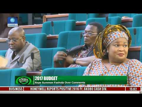 News Across Nigeria: Reps Summon Fashola Over Comments