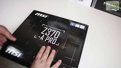 MSI Z370 A Pro Unboxing + Übersicht