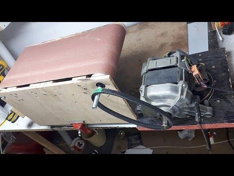 20x41cm Belt Sander Build - Bant zımpara yapımı