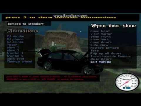 GTA San Andreas Modifiye Modu*Yol Ortasında Led*Modifiye Yapımı
