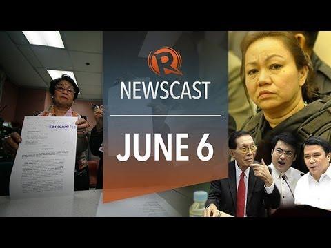 Rappler Newscast: Plunder charges, Senate arrest, Al-Jazeera journo penalty