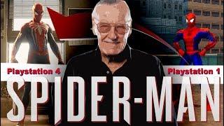 Скачать R I P Стэн Ли Spider Man PS1 Человек Паук PS4