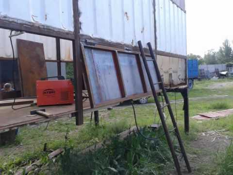 видео: Зерновоз своими руками( container with their hands )