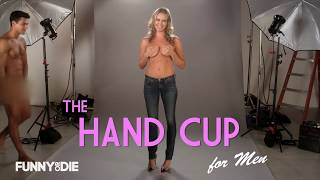 Repeat youtube video The Hand Bra by Rebecca Romijn