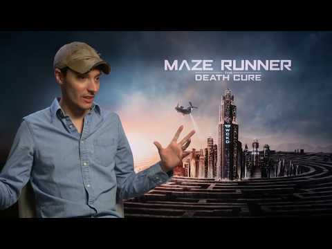 MAZE RUNNER : DEATH CURE Wes Ball   talks about the Dylan O´Brien set accident