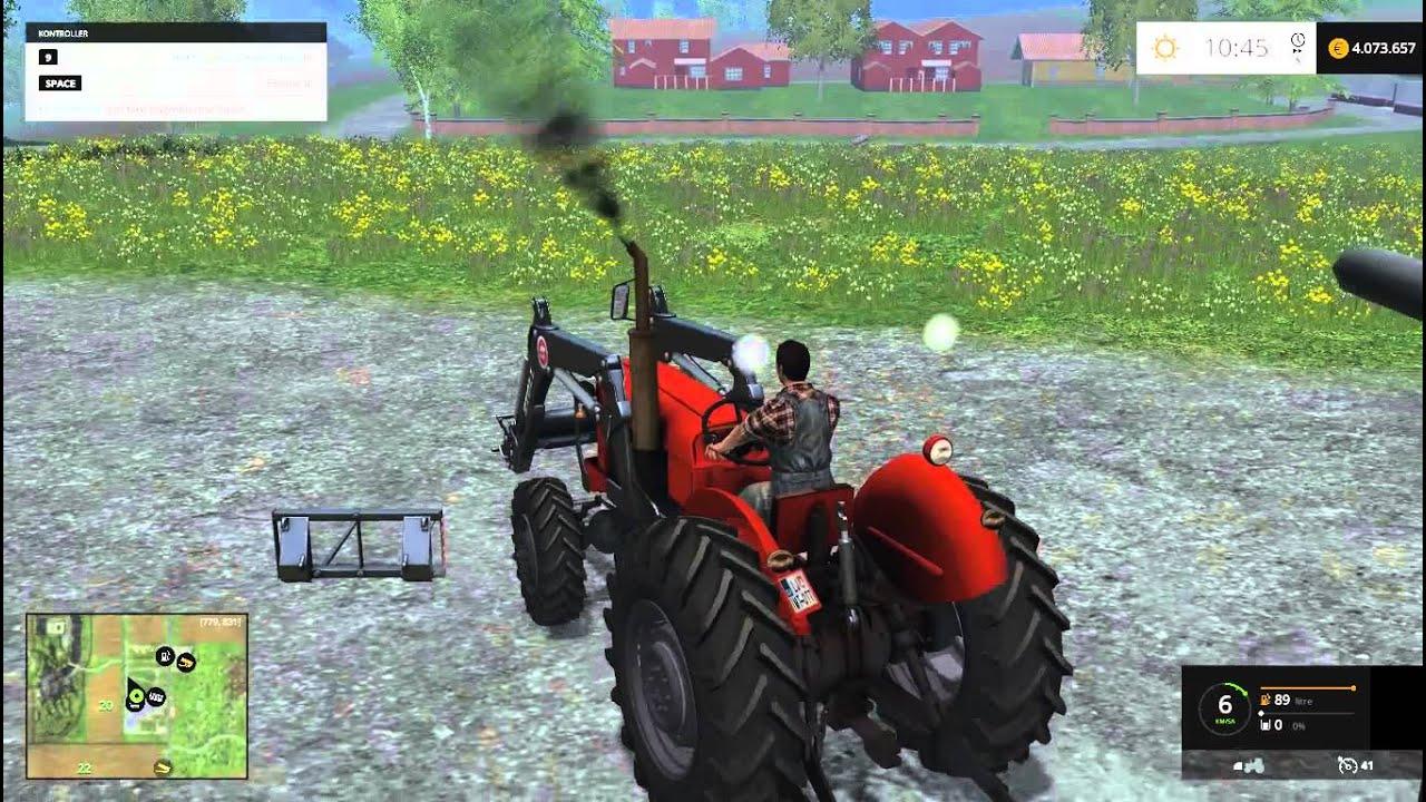 Скачать мод для farming simulator 2015 на трактор