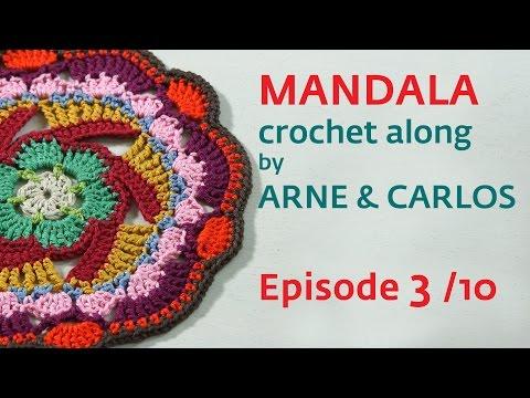 How to Crochet a Mandala. Part 2 by ARNE & CARLOS