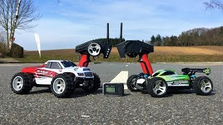 WLToys A979-B vs WLToys A959-B! GPS Speed Test Competition! High Speed RC Cars from RCMoment!