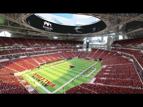 The new Mercedes-Benz Stadium in Atlanta - Mercedes-Benz original