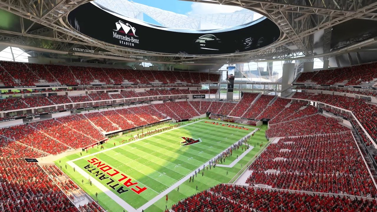 Image gallery mercedes benz stadium for Mercedes benz stadium seating chart atlanta united
