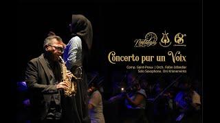 SMM Orchestra - Concerto pour une voix solo saxsophone by Oni Krisnerwinto (Anniversary SMM 2020)