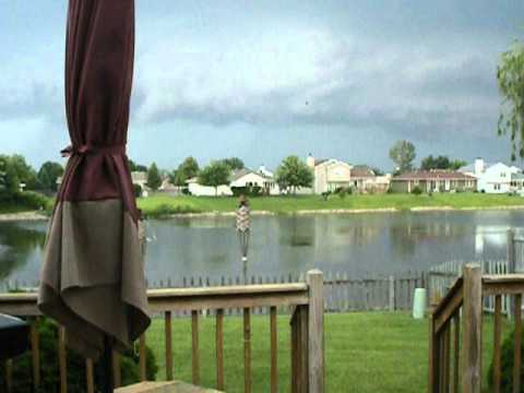 Cool Video of Approaching Storm (w/ Tornado Sirens!)