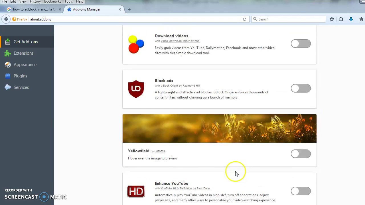 As you can see, Adblock plus has blocked all the ads on this site. 18. Adblock Plus blocks ads from all or nearly all of the common advertising agencies and ensures you will enjoy relatively ad ...