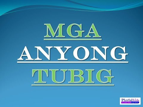 MGA ANYONG TUBIG (PowerPointPresentation) get your ppt file on the link below