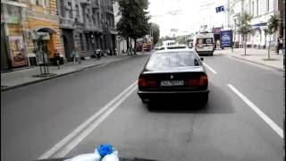 Выезд свадебного дрифт-кортеджа BMW Kharkov