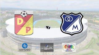 Pereira vs Millonarios Transmisión Radial  #VamosMillonarios