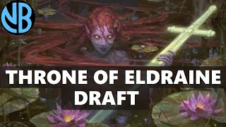 THRONE OF ELDRAINE DRAFT!!! MILL IS COMPLETELY BROKEN!!! (Sponsored by Wizards)