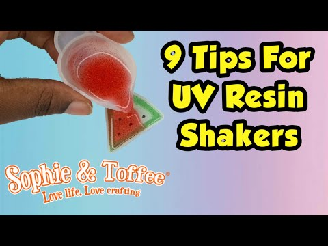 9 Things I Wish I Knew Before Making UV Resin Shakers! Sophie and Toffee September Elves Box