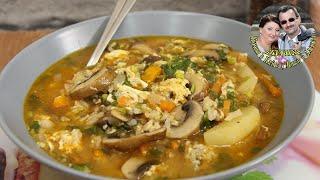 готовим грибной суп