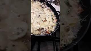 Вкусная картошка с овощами и мясом на сковороде!🍳🍳👍👍👍