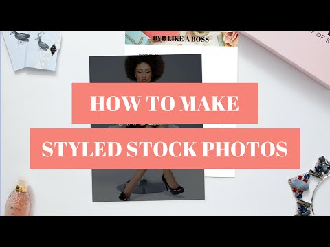 How To Create Styled Stock Photos