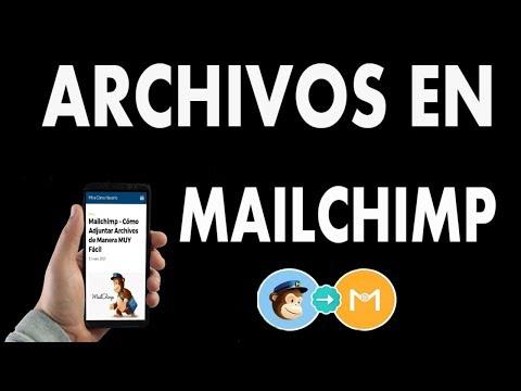 Mailchimp – ¿Cómo Adjuntar Archivos de Manera MUY Fácil?