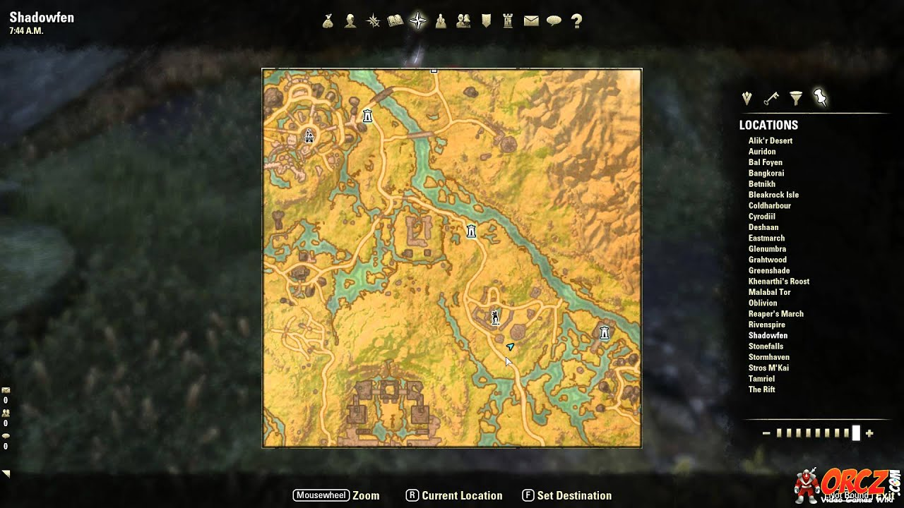 Shadowfen CE Treasure Map Location - The Elder Scrolls Online on green shade treasure map, the rift ce treasure map, eso stone falls ce treasure map, deshann eso ce treasure map,