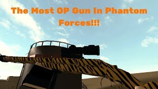 The Most OP Gun In Phantom Forces!?! | Stevens DB | Roblox #34