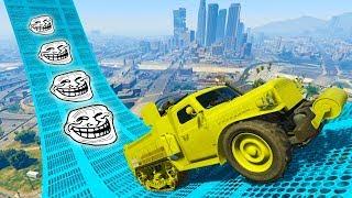 CARRERA TROLL 100% IMPOSIBLE!! - CARRERA GTA V ONLINE - GTA 5 ONLINE