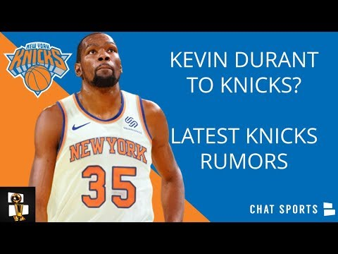 separation shoes d736f f8917 Kevin Durant To Knicks In Free Agency? Knicks Rumors On Zion Williamson,  Kristaps Porzingis Update