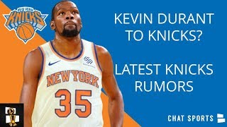 Kevin Durant To Knicks In Free Agency? Knicks Rumors On Zion Williamson, Kristaps Porzingis Update