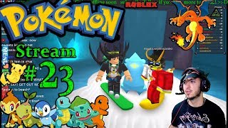 POKEMON in Roblox Ch.#22, Legendaries Hunt! 1st time playing PC(Max Graphics) #23rd Stream