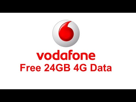 Vodafone 24GB Free 4G Data   Activate from myvodafone App