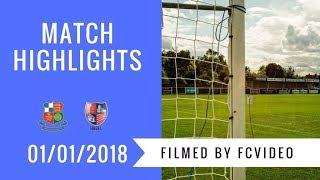 Wealdstone v Hampton & Richmond Borough - 1st Jan 2018