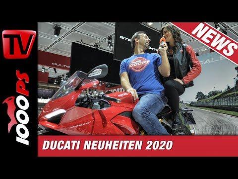 Ducati Neuheiten auf der EICMA - News für 2020 und 2021 - News aus Mailand
