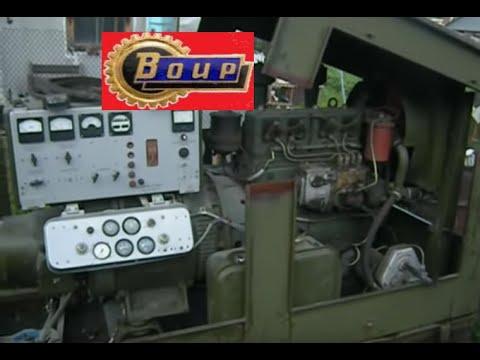Военный дизель генератор.