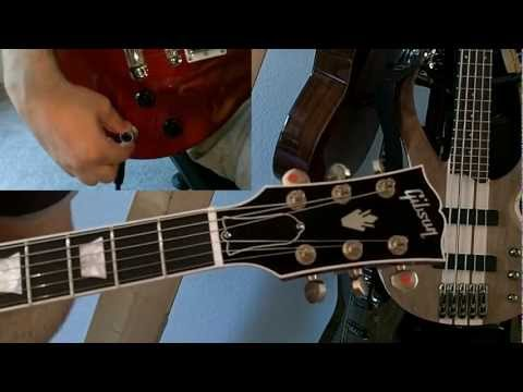 Gibson Les Paul Robot Guitar Tuning Test