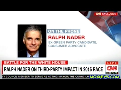 """THE ELECTION IS RIGGED!"" RALPH NADER"
