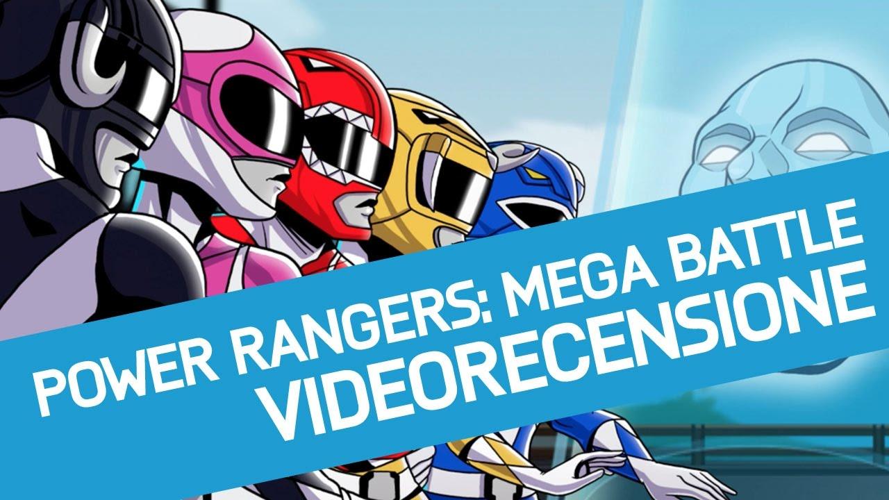 Power Rangers Mega Battle Recensione Del Nuovo Gioco Dei Power