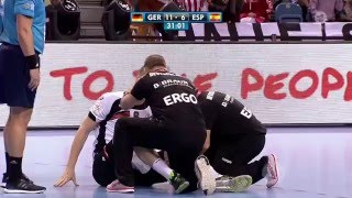 Handball EM 2016: Finale Deutschland vs. Spanien - 2. Halbzeit (ARD 31.01.2016)