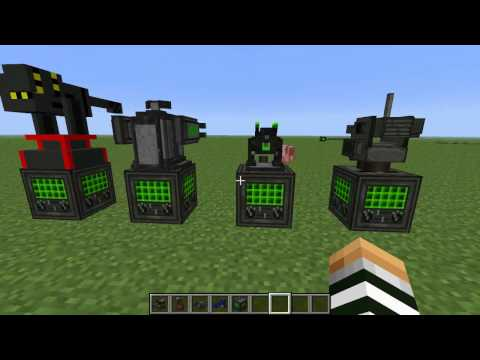 MR BLUE Minecraft Voltz Turret