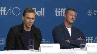 HIGH RISE Press Conference   TIFF 2015
