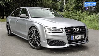 Audi S8 plus (605hp) - DRIVE & SOUND (60FPS)