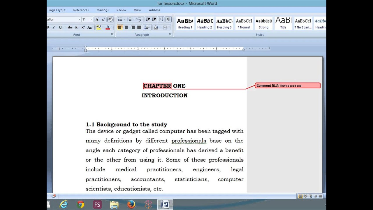 Simple Way Of Removing Markup Area In Ms Word 2007