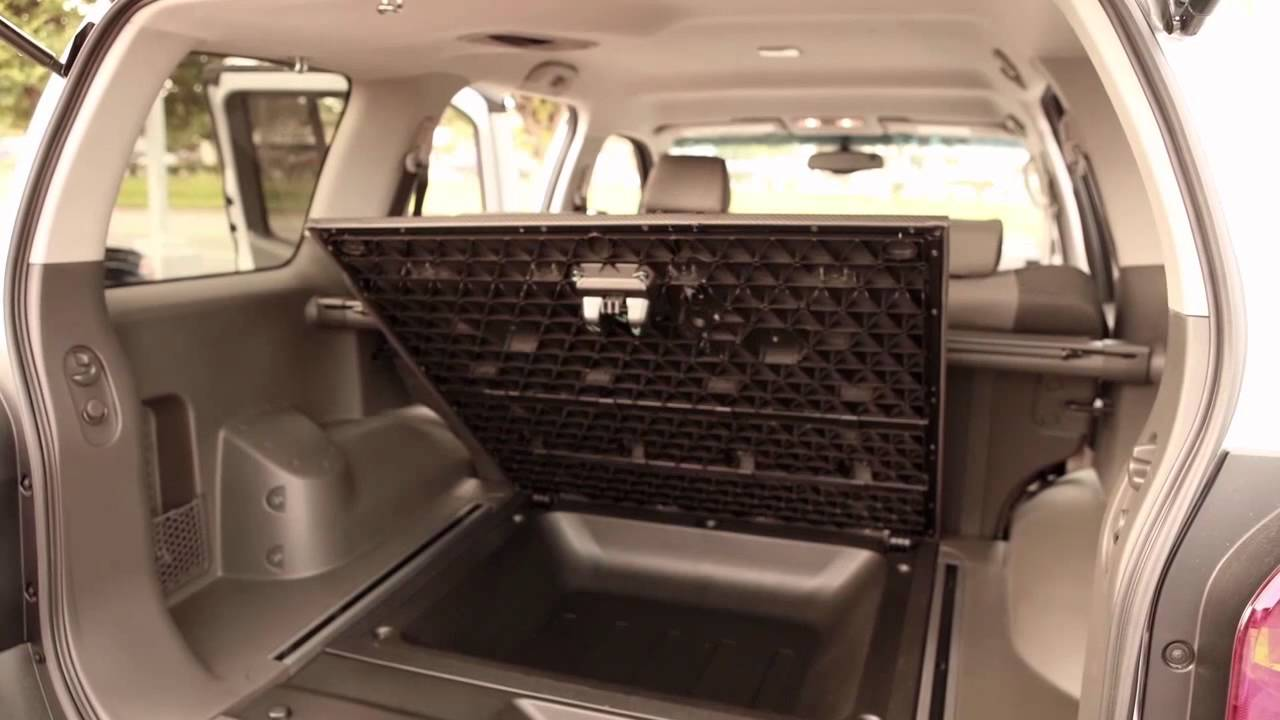 2015 nissan xterra interior storage youtube. Black Bedroom Furniture Sets. Home Design Ideas