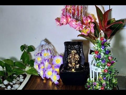 DIY Bird Cage  by Reusing Waste Materials /DIY Ganapati Puja Decoration