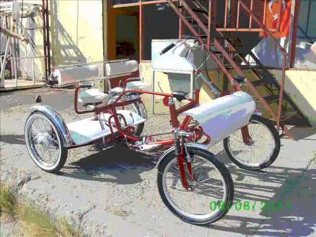 4 tekerli el yapimi bisiklet