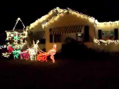 hilltop christmas lightswmv - Hilltop Christmas