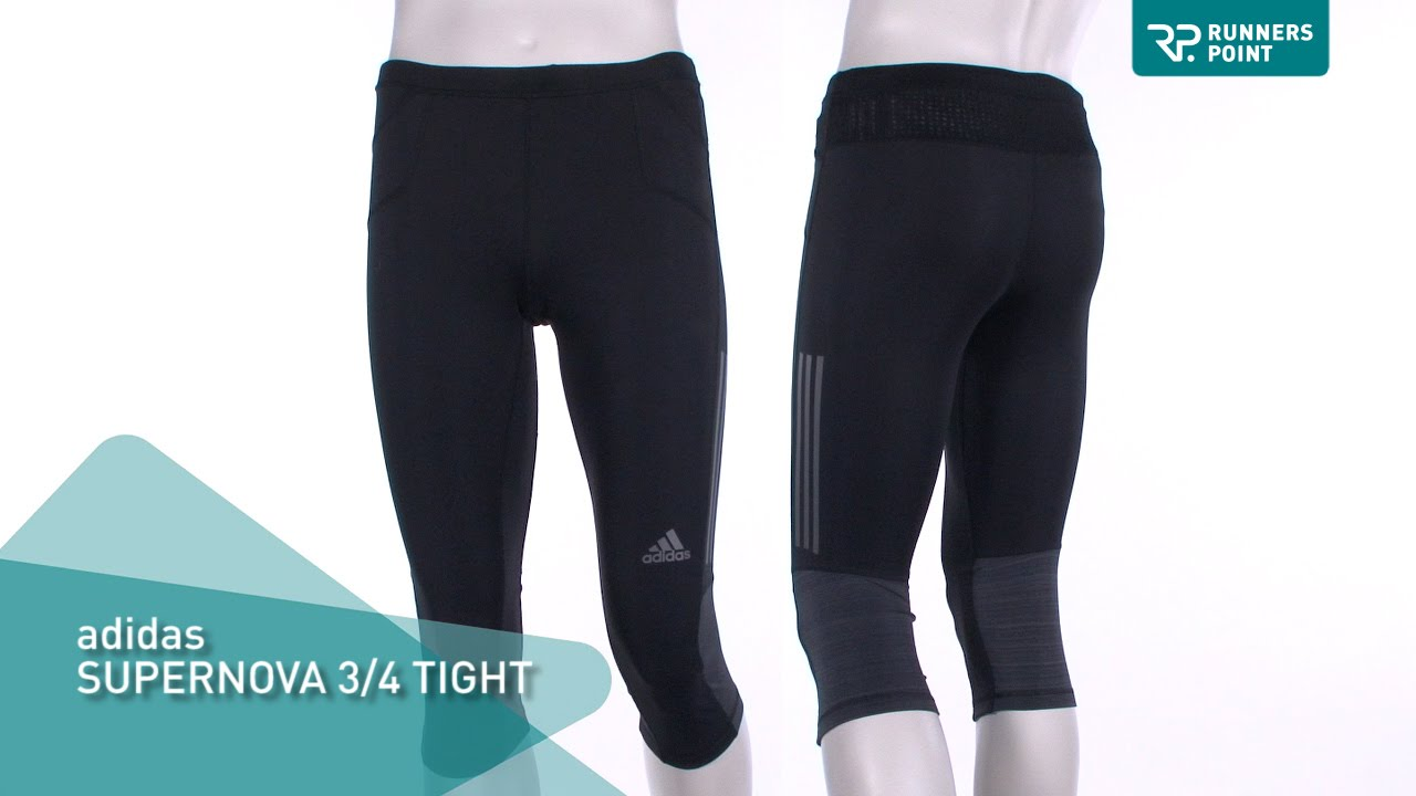 8f1e27c73a2dd adidas Supernova 3 4 Tight Laufhose Herren - YouTube